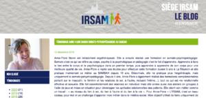 Extrait blog IRSAM